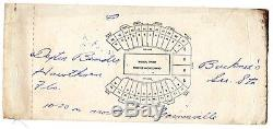 1966 2nd Game Ever New York Jets @ Miami Dolphins Ticket Stub Namath #14/140