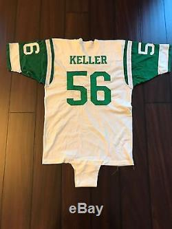 1976 New York Jets #56 Larry Keller Game Used Jersey Champion XL