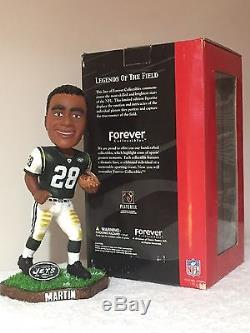 #1 Serial Number CURTIS MARTIN New York Jets Legends Of The Field Bobble Head