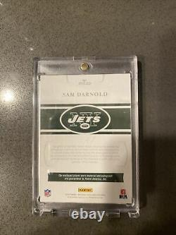 2018-19 Panini National Treasures Sam Darnold NT Rookie Patch Auto /49 RC RPA
