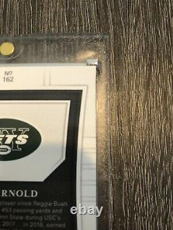 2018 National Treasures Sam Darnold Midnight RPA /20 RARE Cracked Ice Of NT