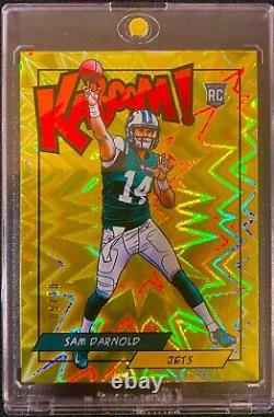 2018 Panini Kaboom! Gold Sam Darnold /10 ROOKIE RC READY TO GET GRADED