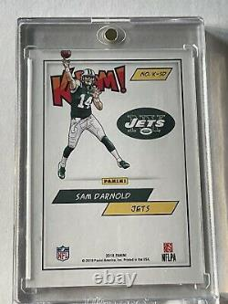 2018 Panini Kaboom! Sam Darnold Rookie Low Pop NY Jets Panthers SP SSP
