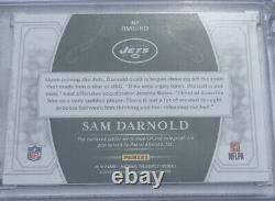 2018 Panini National Treasures Sam Darnold Two Color RPA RC ROOKIE AUTO #13/25