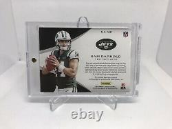 2018 Panini Sam Darnold Rookie RC On Card Auto 1/1 Nike Tag One of One PANTHERS