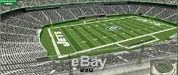 2019 New York Jets HOME GAME vs Pittsburgh Steelers 2 tickets Sect 318 Row 1