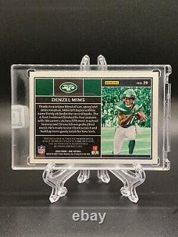 2020 Panini One Football DENZEL MIMS Rookie Patch AUTO #/199 RPA 2 Color JETS