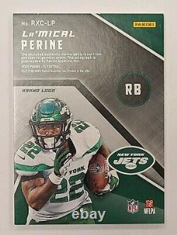 2020 Panini XR Rookie Xcellence Auto Swatches La'Mical Perine RC Nike Jets 1/1