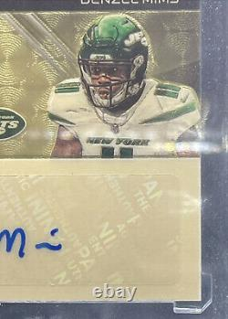 2020 Spectra Denzel Mims & James Morgan Dual Auto Nike Patch Superfractor RC 1/1