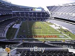 2 Chicago Bears vs New York Jets Tickets! Need 4 See my other listing