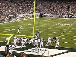 2 INDIANAPOLIS COLTS @ vs NEW YORK JETS 10/14 SECTION 149 ROW 17