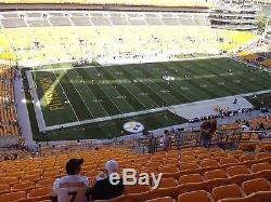 2 Tickets to the Pittsburgh Steelers vs. New York Jets (10/09/16)