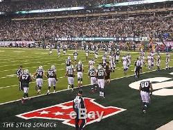 4 Green Bay Packers New York Jets Tickets 12/23 2nd Row LOWERS 129 Aisle MetLIfe