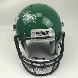 Autographed/Signed LE'VEON LEVEON BELL New York Jets Full Size Helmet PSA COA