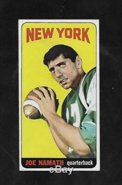 Awesome Cigar Box Find 1965 Topps #122 Joe Namath Rc Pack Fresh Centered Nmt/mt