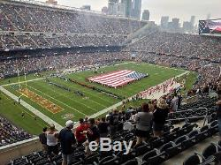 Chicago Bears vs New York Jets @ Soldier Field VIP United Club section 316