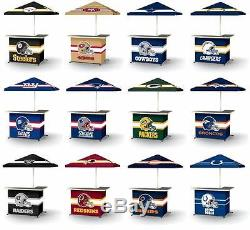 Choose Your NFL Team L-Shaped Tailgate Portable Party Bar with Umbrella