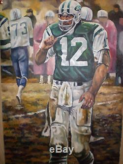 Commission a New York Jets or Giants Painting not photo not poster