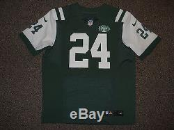 Darrelle Revis New York Jets Green Authentic Nike Elite Jersey sz 48 New Mens NY