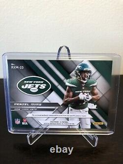 Denzel Mims 2020 Panini XR 1/1 Laundry Tag New York Jets Baylor Bears Rookie RC