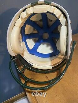 Excellent Duel Signed Tim Tebow And Mark Sanchez Full Size NY Jets Helmet