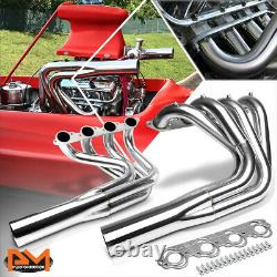 For Chevy Big Block V8 Jet Boat Stainless Steel Water Injection Exhaust Header