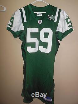 Game Used Worn New York Jets NFL Football Jersey