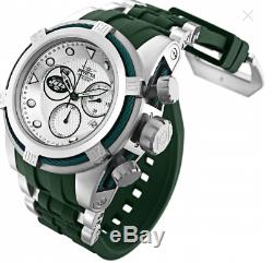 Invicta 52mm Bolt Zeus NFL OFFICIAL NEW YORK JETS Chrono Silicone Strap Watch