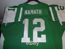 cheap for discount c67c5 f7b90 Joe Namath New York Jets Mitchell & Ness Authentic Throwback ...