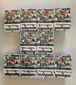 Lot 10 Chronicles NFL Football Blaster Box NFL Trading Cards Factory Sealed