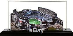 NFL Lighted Stadium With Display Case 13 Inch SELECT YOUR TEAM NEW
