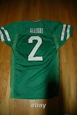 NFL NY Jets Raul Allegre 1992 game worn used vintage jersey