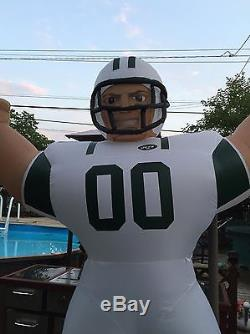 NFL New York Jets Inflatable AirBlown Tiny Blow Up Football Player Apparel Gear