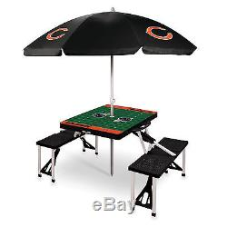 NFL Tailgate Picnic Table With Sport Umbrella Select Team