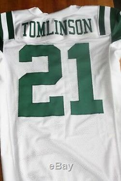 New York Jets 2010 Game Issued Jersey Landainian Tomilinson RB COA