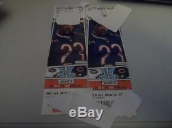 New York Jets At Chicago Bears 2 (two) Tickets 10/28/18 Sec 321