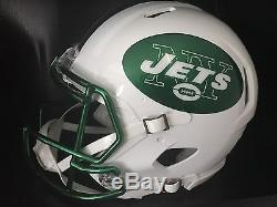 online store fe67a d7870 New York Jets Authentic Color Rush Riddell Speed Helmet Free ...