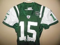 New York Jets Game Used/issued Qb Cut Football Jersey