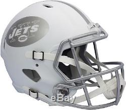 New York Jets ICE Revolution Speed Full-Size Replica Football Helmet Fanatics