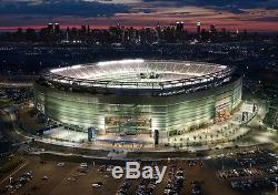 New York Jets Vs. New York Giants, sect. 104, 12 Rows back, Parking included