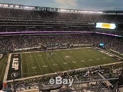 New York Jets v Miami Dolphins MetLife Stadium 9/16/18 Section 317 Row 12