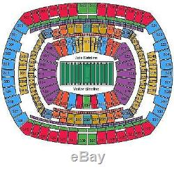 New York Jets vs. Baltimore Ravens (10/23) 2 Seats FRONT ROW