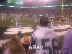 New York Jets vs Seattle Seahawks 2 Tickets 10/02 1PM AMAZING VIEW ON THE FIELD