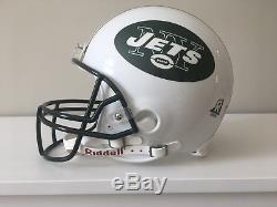 New york jets full size authentic helmet white pre owned