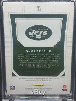 SAM DARNOLD 2018 National Treasures RC 2 Color Patch Auto RPA #76/99 Jets