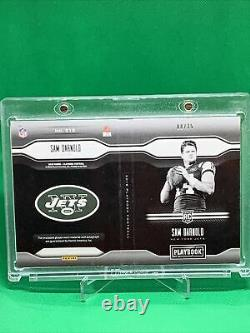 SAM DARNOLD AUTO RC 2018 PLAYBOOK ON CARD AUTOGRAPH RPA 08/25 NY JETS/Panthers