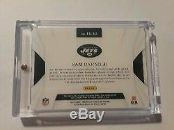Sam Darnold 2018 Panini Immaculate Patch Auto /35 RPA Jets RC Autograph Rookie