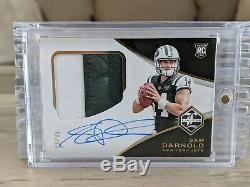 Sam Darnold 2018 Panini Limited RPA Rookie Auto SP /99