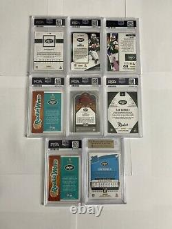 Sam Darnold PSA 10 7 Card Lot Panini Prizm Stained Glass Playoff RC 9.5 RR