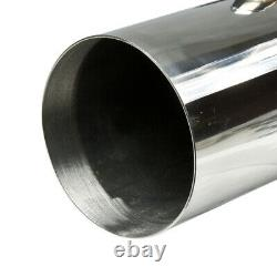 Stainless Steel Water Injected Header Big Block Bbc Jet Boat Exhaust/manifold